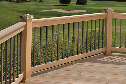 Deckorators Square Estate Balusters