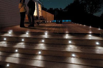 deck lighting post caps deck balusters so recessed step lights