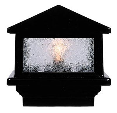 Aurora Deck Lighting Sirius Pyramid Post Top Light