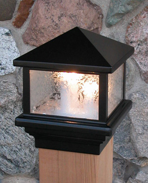 Aurora Deck Lighting: Sirius Post Top Deck Light (110 volt)
