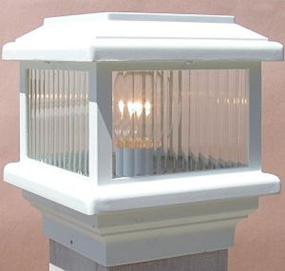aurora deck lighting titan post top deck light 110 volt