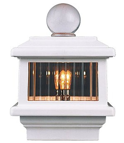 aurora deck lighting zenith post top deck light 110 volt