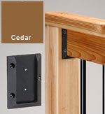 Deck Railing Connectors Cedar
