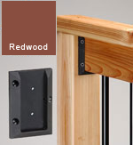Deck Railing Connectors Redwood
