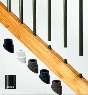 Deckorators Black Stair Connectors