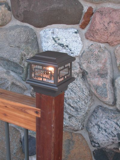 Aurora Deck Lighting: Orion Post Top Light