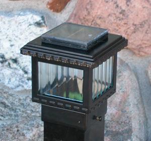 Aurora Polaris Solar Post Light