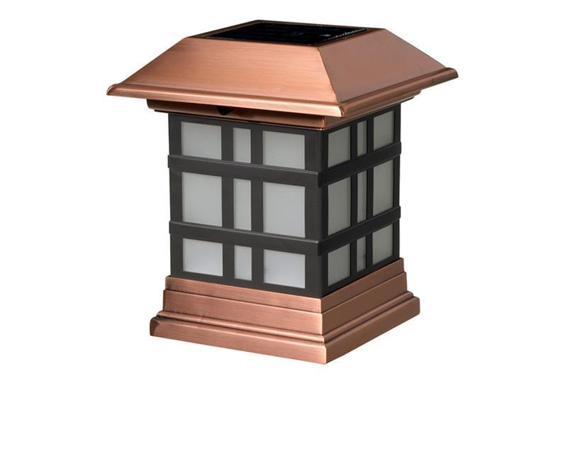 Dynasty Solar Post Cap Light