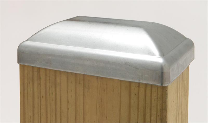 Standard Galvanized Post Cap 4x6