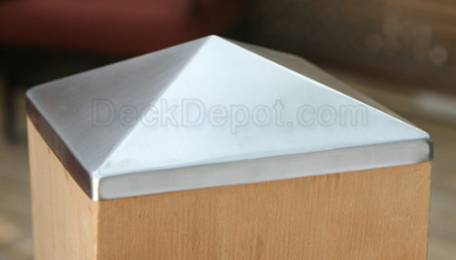 Post Point Cap Stainless