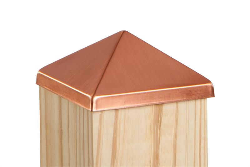 Copper Post Point Cap
