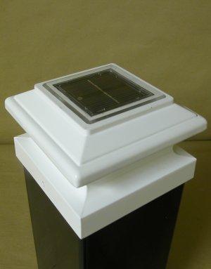 Pegasus Solar Post Cap Light By Aurora Deck Lighting