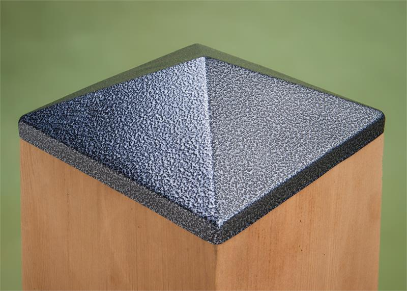 Post Point Cap Hammered Pewter