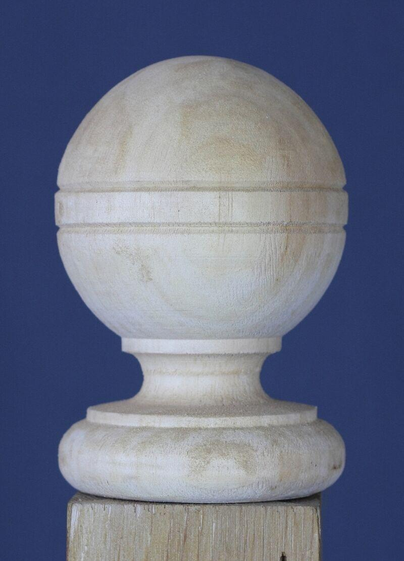 Cantebury Ball Top Finial Pressure Treated