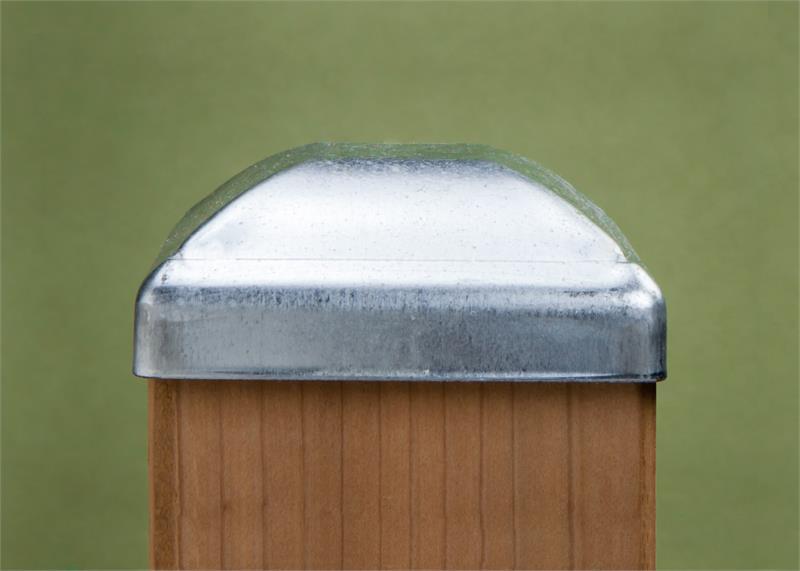Standard Galvanized Post Cap
