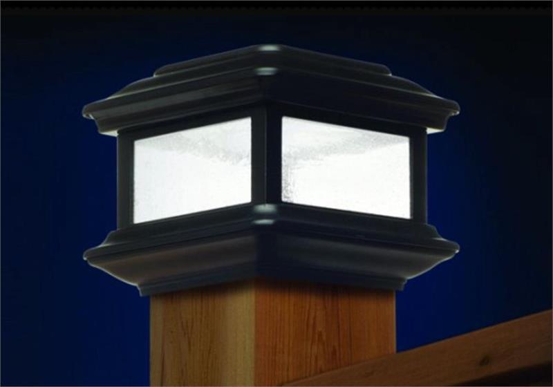 Classy Caps Solar Post Light Windsor