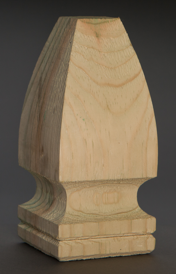 French Gothic Finial Pressure Treated