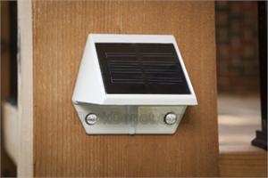 External Solar Wall Lights : Solar Deck and Wall Light