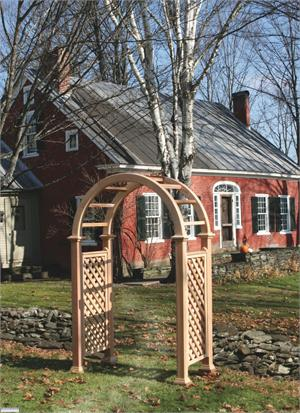 Nantucket Cedar Arbor