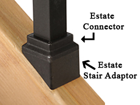 Deckorators Square Estate Stair Adaptors