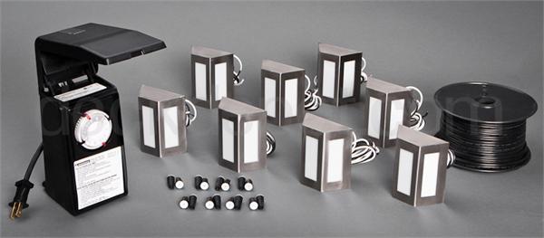 Highpoint Clear Creek Deck Rail Light Kit