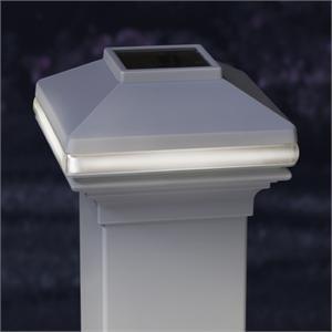 deckorators solarband deck light white