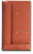 Deckorators Multi-Degree Railing Connector (shown in cedar)