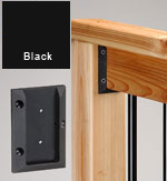 Deck Railing Connectors Black