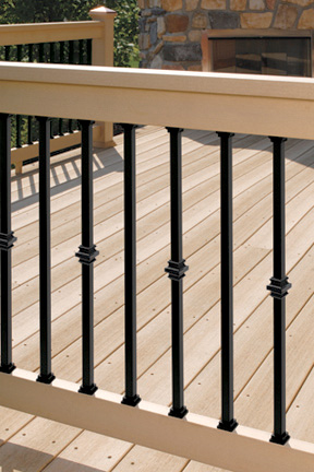 Deckorators 26 Quot Square Estate Balusters Black
