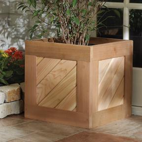 Nantucket Cedar Planter Box & Nantucket Red Cedar Planter Box Aboutintivar.Com