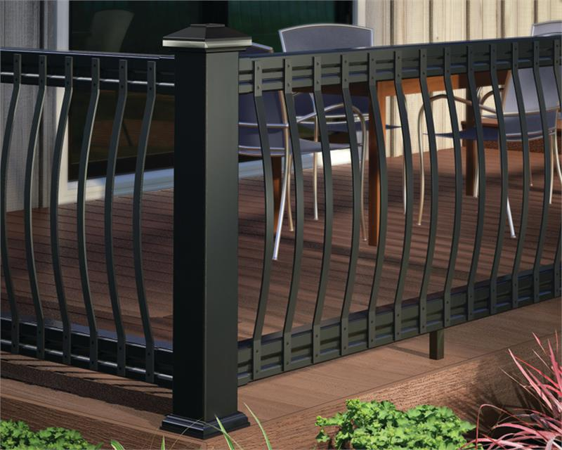 Deckorators Arc Deck Balusters