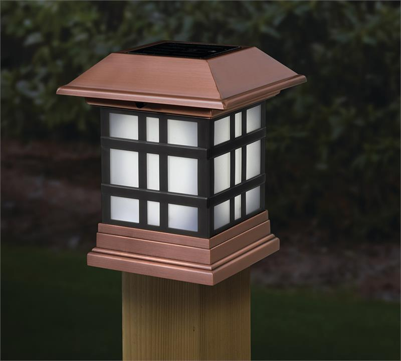 Dynasty Solar Post Cap Light
