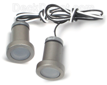 Aurora Phoenix Recessed LED Deck Light 2 pack  sc 1 st  Deck Depot & Aurora Phoenix LED Deck Light Kit