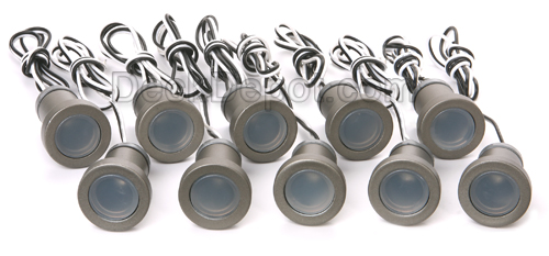 Aurora phoenix 10 pack aurora phoenix recessed led deck light kit 10 pack mozeypictures Gallery
