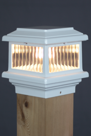 Aurora Titan Led Deck Post Cap Light