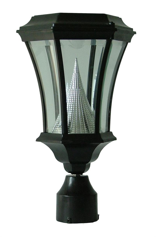 Victorian Solar Post Lamp