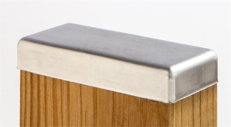 Standard Galvanized Post Cap 2x4
