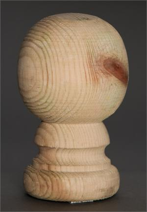 Ball Top Finial - Pressure Treated